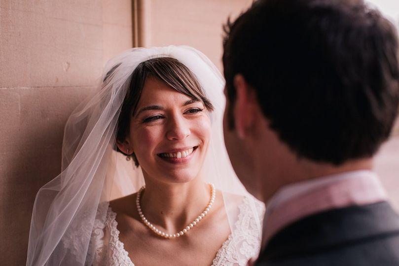 Wedding make-up - airbrush