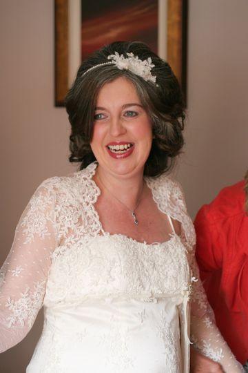 Wedding make-up by rachael
