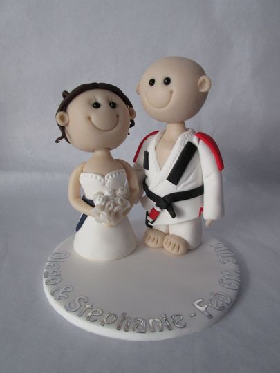 JuJiSu Gi Wedding Cake topper