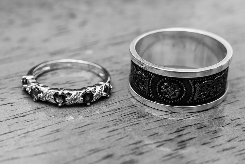 Close Up of the Rings