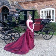 Half open carriage