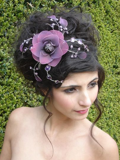 Annabel rose fascinator