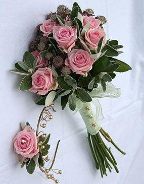 Vintage style Brides bouquet