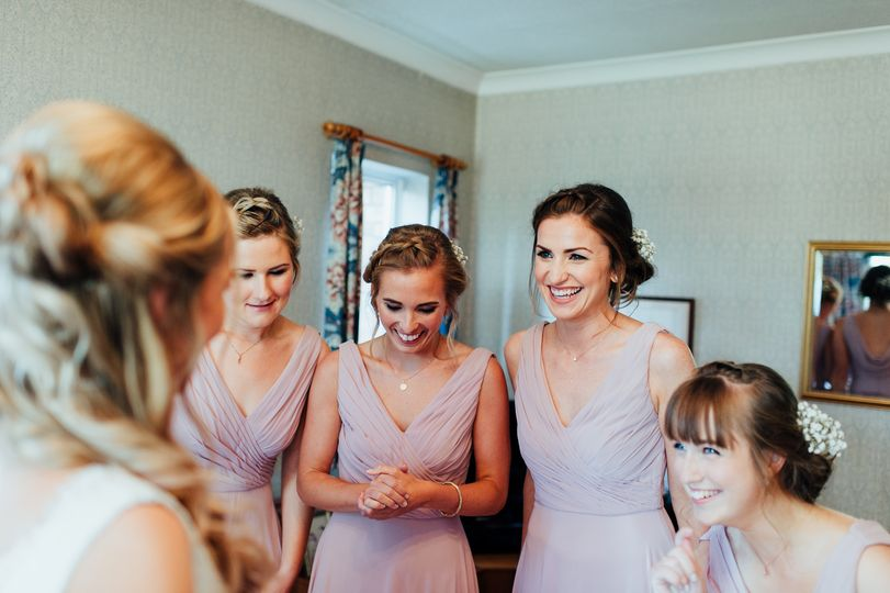 In awe of the Bride