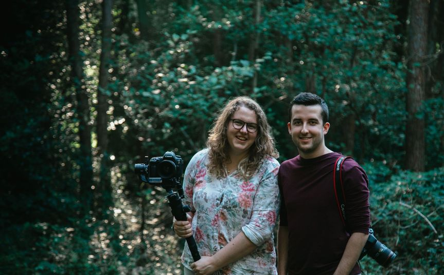 Photographers Brad and Grace Keeley