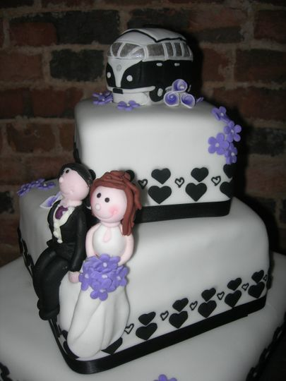 Hand modelled Bride & Groom