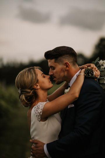 Photographers Fox Photography Cardiff - The happy couple