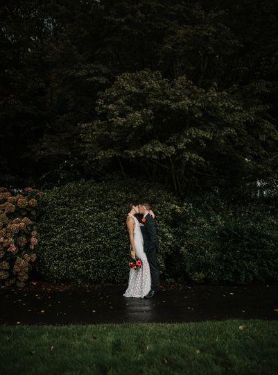 Photographers Fox Photography Cardiff - First kiss