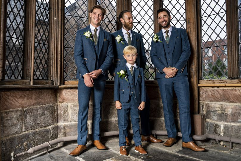 Children's and ushers' suits