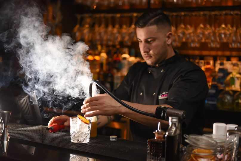 Mr Flavour Cocktail: Smokey Beer Fashioned