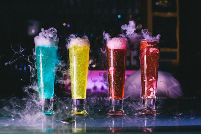 Edible Glitter Cocktails