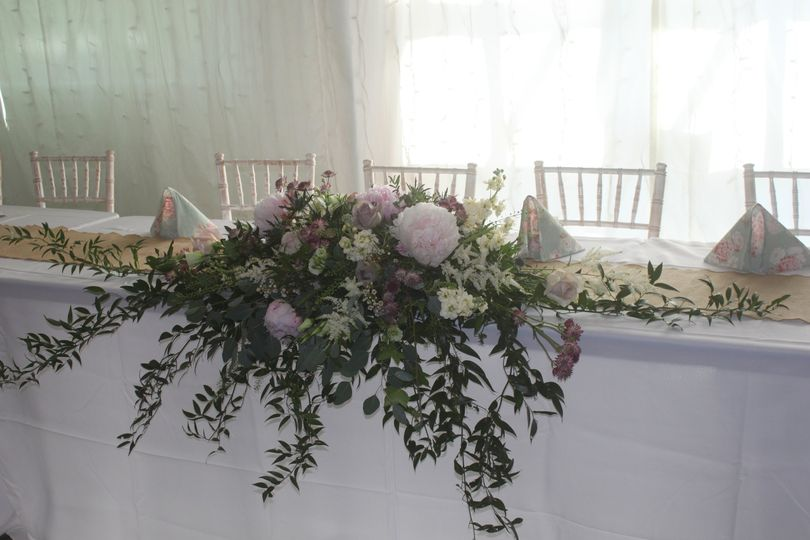 Rustic Top Table