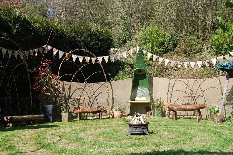 Surrealspaces pop up garden