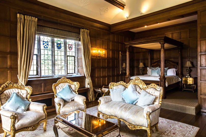 Hengrave Hall Bridal Suite