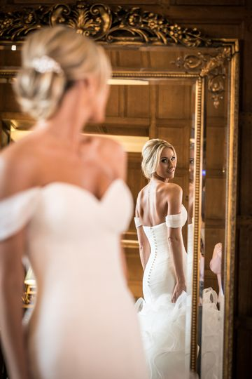 Hengrave Hall Bride