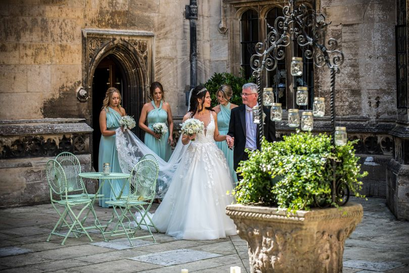 Hengrave Hall Bridal Party