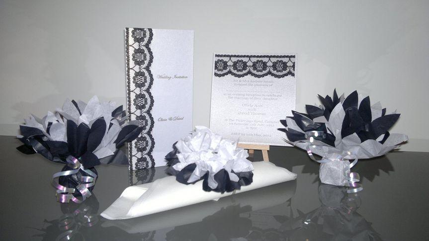 Vintage black lace range