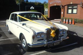 Rosie Rolls Royce Wedding Car