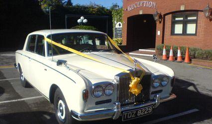 Rosie Rolls Royce Wedding Car