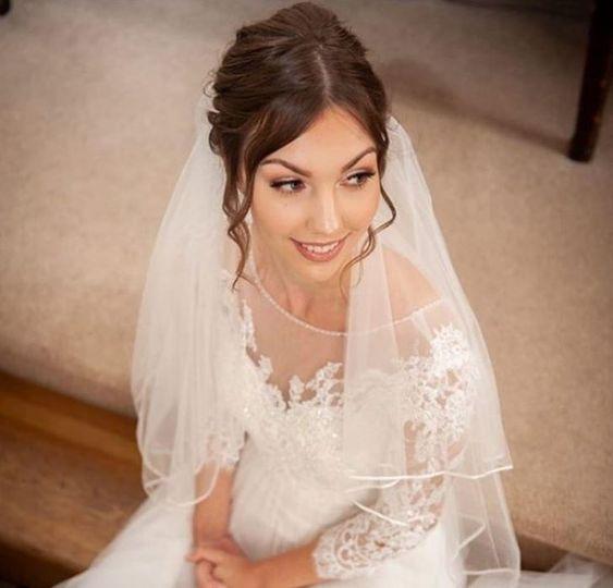 Bridal Makeup - Rivervale Barn