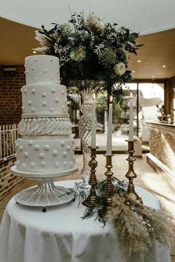 Stunning tiered cake