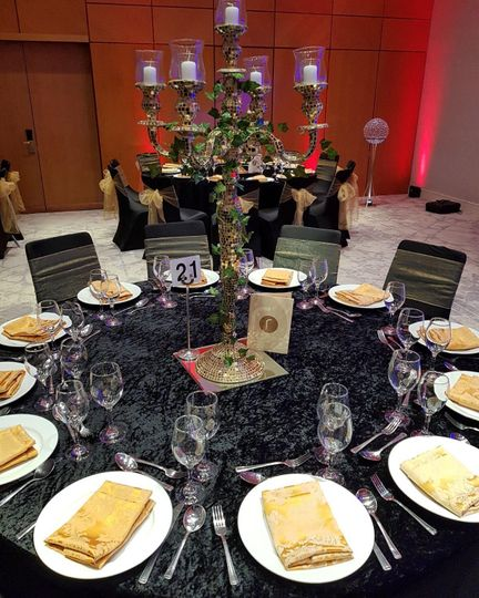Venue dressing and decoration hire