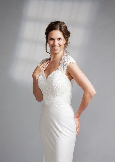 Belle wedding gown