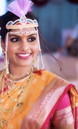 Indian Maharashtrian Look