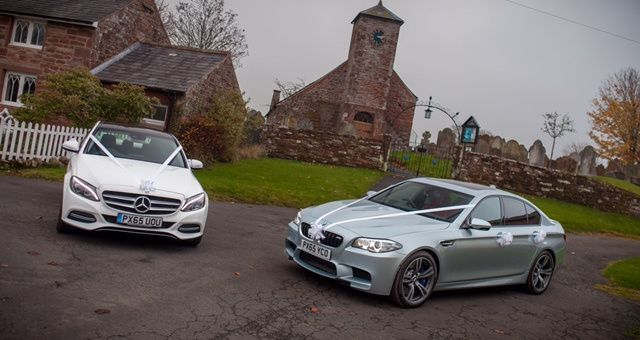 C Class Sport and BMW M5