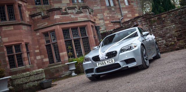BMW M5 Dalston Hall