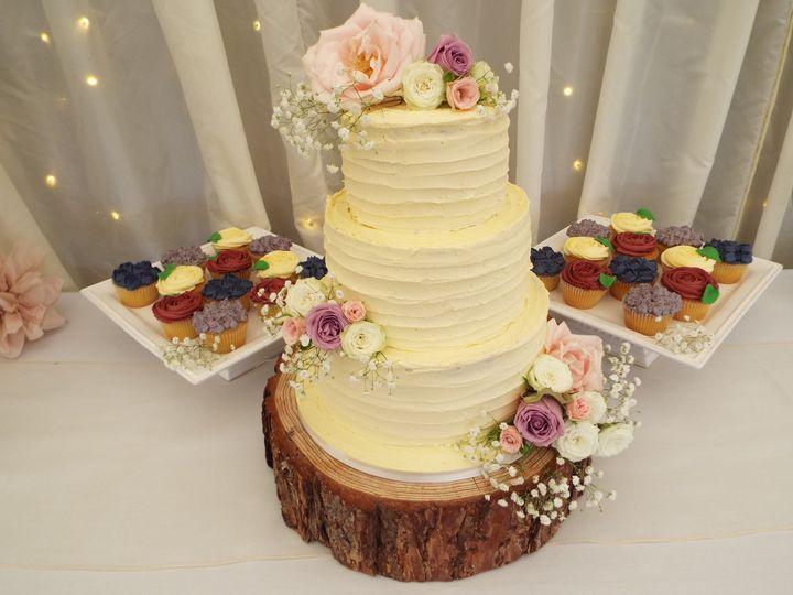 Full buttercream rose c/cakes