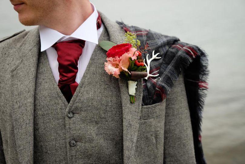 Wild buttonhole