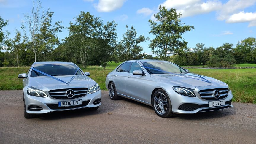Our silver Mercedes