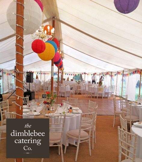the dimblebee catering company ltd high quality wedding caterers logo 4 72301