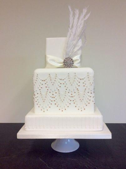 1920s Wedding cake