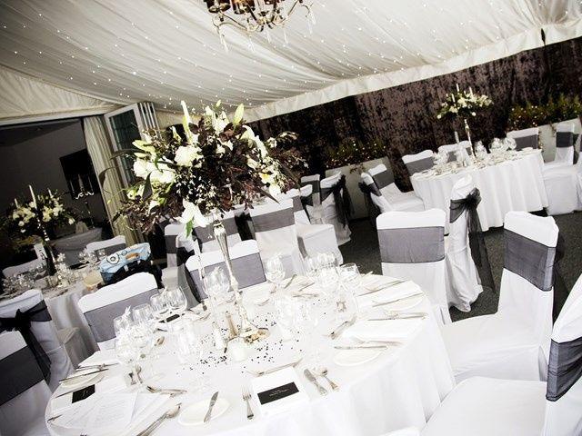 Garden Suite Wedding Set Up