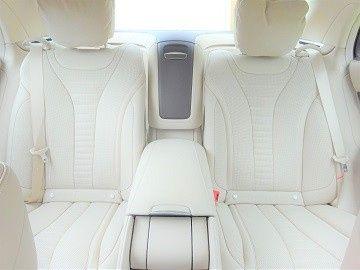2019 S Class Rear Interior