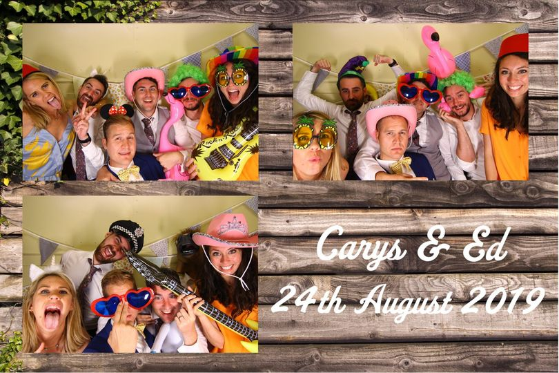 Horsebox photo booth session!