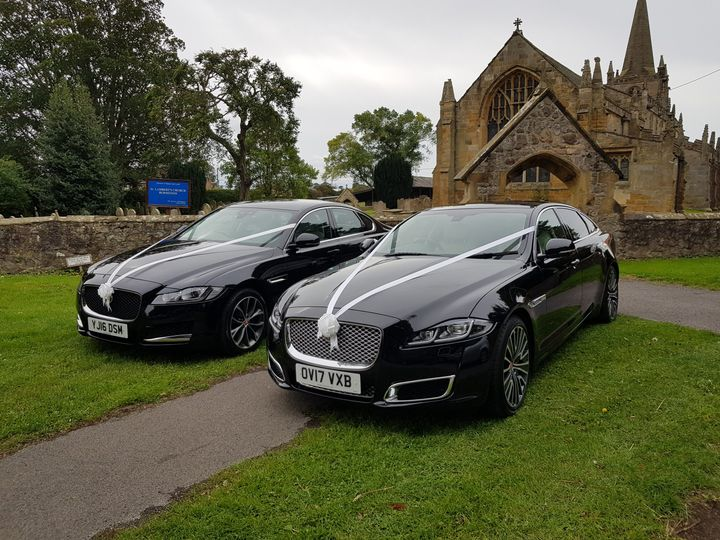 Two stunning Jaguars