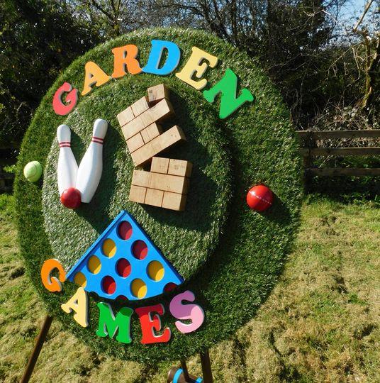 Garden Games Galore!