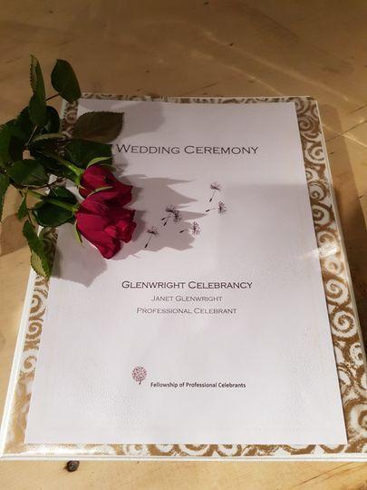 Rose ceremony