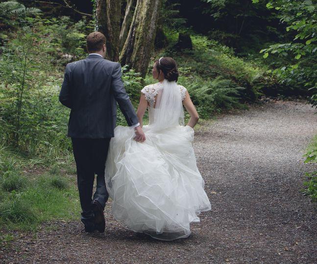 Helen Mitchellhunter photography - Just married!