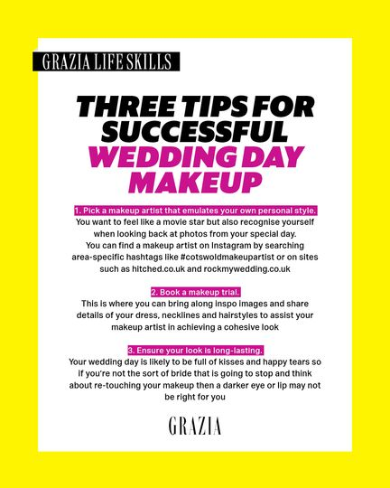 Advice and Tips for Grazia