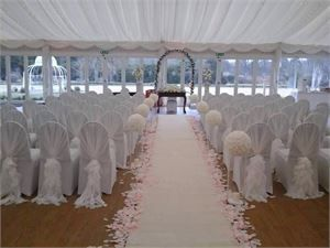 Wedding Ceremony and Aisle Decorations Hire Essex