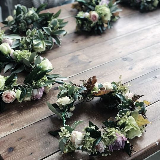 Hen and Stag Nights Sarah Lansley Bespoke Flower Workshops 17