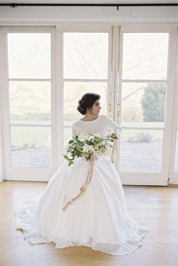 Ivory and Co wedding dress