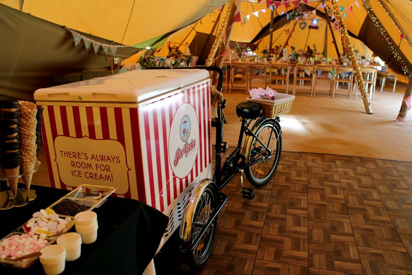 Perfect for tipi weddings