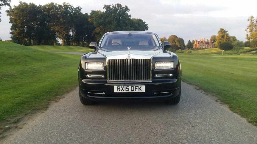 Black Rolls Royce Phantom 2