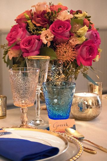 Wedding table Pearline Events