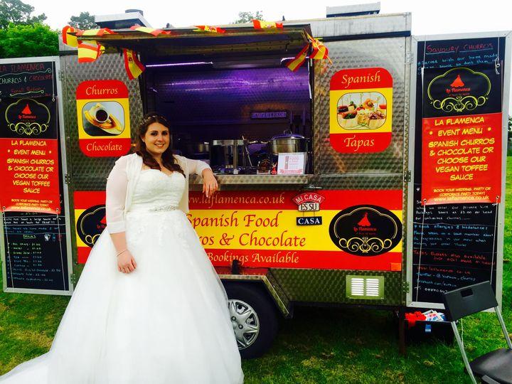 Wedding churros